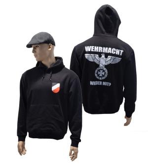 Kapuzensweatshirt Wehrmacht wieder mit K52 G431