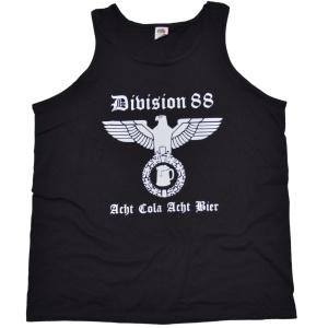 Tanktop Muckishirt Division 88 Acht Cola Acht Bier G308