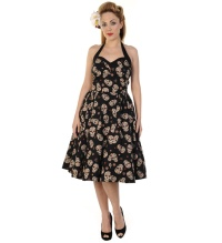 Rockabilly Kleid Skull Banned