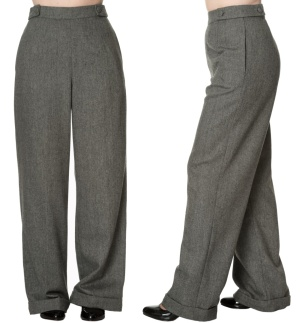 Damen Swing Trouser 40iger Jahre Banned
