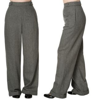 Damen Swing Trouser 40iger Jahre Banned