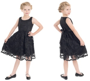 Rock n Roll Kleid Kinder Spitze H&R London