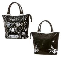 Handtasche Lacktasche im Rockabilly Style Jawbreaker