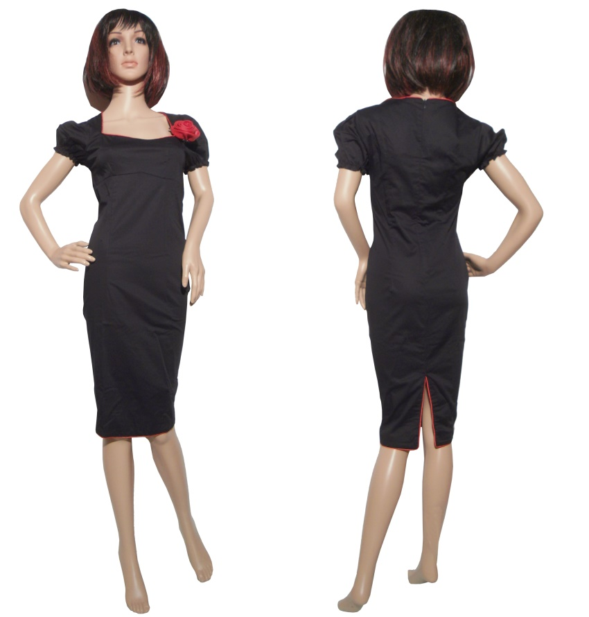 Pencil Dress/Bleistiftkleid Küstenluder Rockabilly