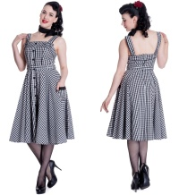 Petticoatkleid/Rock n Roll Kleid Chantal Hellbunny