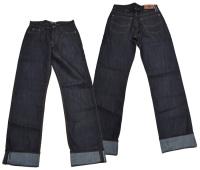 Herren Rock N Roll Rockabilly Jeans Hose