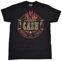 T-Shirt Johnny Cash Ring Of Fire