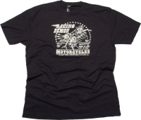 Racing Demon Motorcycles T-Shirt Sourpuss