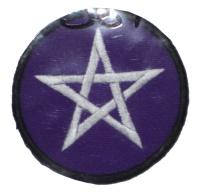 Aufnäher Pentagramm