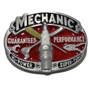 Gürtelschnalle Mechanic