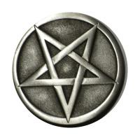 Gürtelschnalle Pentagramm