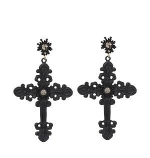 Ohrring Gothic Cross