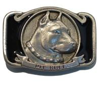 Gürtelschnalle Pit Bull