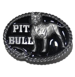 Gürtelschnalle Belt Buckle Pit Bull