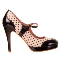 Damen Rockabilly Pumps Banned
