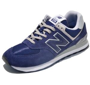 New Balance Classic Laufschuhe ML574EGN in Farbe dunkelblau