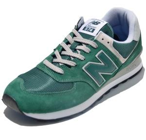 New Balance Laufschuhe ML574EGR in Farbe grün
