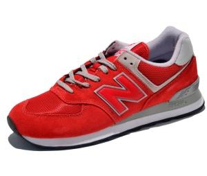 New Balance Classic Laufschuhe ML574ERD in Farbe rot