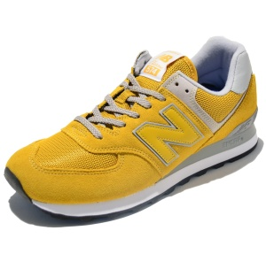 New Balance Laufschuhe ML574EYW in Farbe Gelb