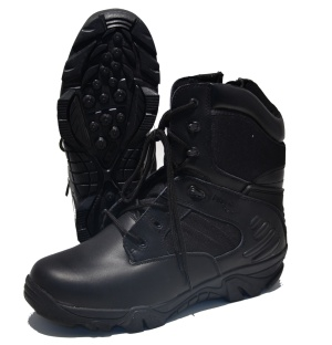MC Allister Outdoor Boots Delta Force in schwarz Security Stiefel