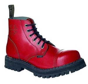 Steel 6Loch Boots rot