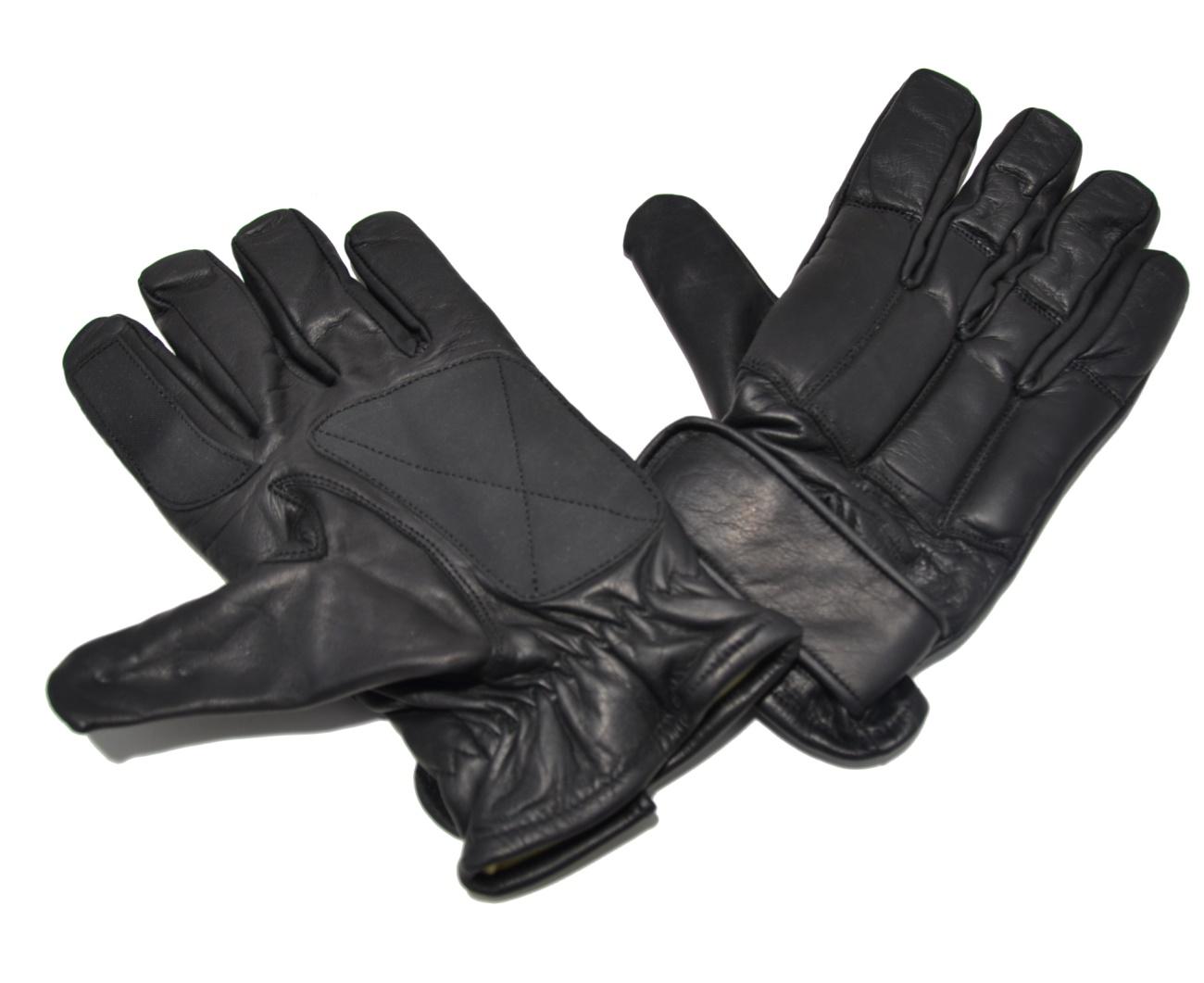 Bekleidung Security Kevlar Handschuhe aus Rindsleder und Neopren Handschuhe