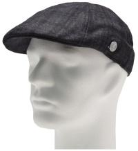 Firetrap Gatsby Hat Black Check