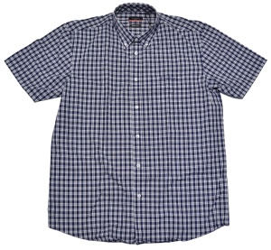 Pierre Cardin Button Down Kurzarmhemd kariert