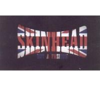 Aufkleber Skinhead Not A Fashion