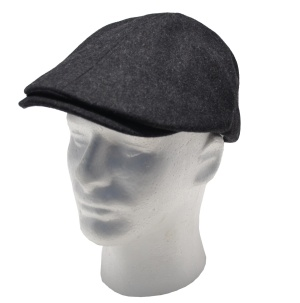 Beechfield Gatsby Hat B623 Schiebermütze in dunkelgrau
