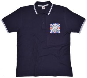 Polo-Shirt Skinhead A Way Of Life Union Jack K34