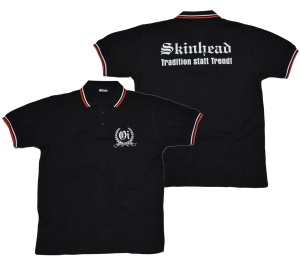 Polo-Shirt Skinhead Tradition K12/G23