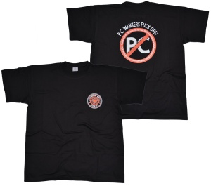T-Shirt Punks Not Red! bK4 G512