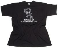T-Shirt Zuhause ist wo ich in Ruhe Kacken kann G41