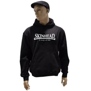 Kapuzensweatshirt Skinhead A Way of Life G37