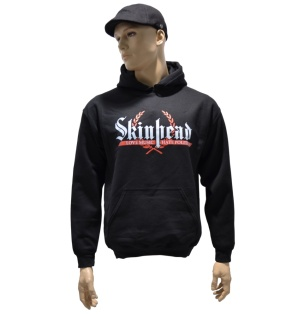 Kapuzensweatshirt Skinhead Love Music Hate Politics G502