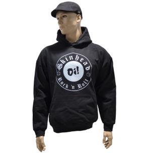 Kapuzensweatshirt Skinhead Rock n Roll G504