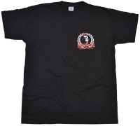 T-Shirt Oi Skinhead proud and strong kleines Logo K9