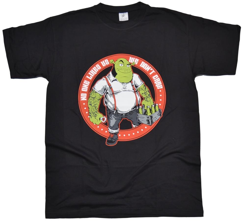 T-Shirt No One Likes Us - Skinhead Shop T Shirts - Details - Skinhead Shop Und Versand STS123 ...