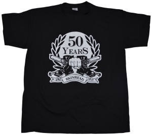T-Shirt 50 Years Skinhead II G427