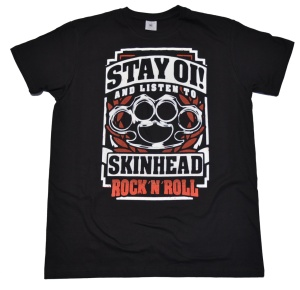 T-Shirt Skinhead Stay Oi RU
