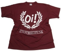 T-Shirt OI its Streetpunk