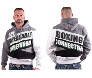 Boxing Connection/Label 23 Kapuzensweat The Unbreakable