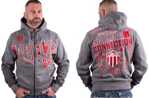 Boxing Connection/Label 23 Kapuzenjacke World of fighting