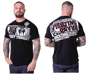 Boxing Connection Label 23 T-Shirt Fear Campaign