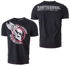 Thor Steinar T-Shirt Veto TS Brotherhood 200010140 enger Schnitt fällt klein aus