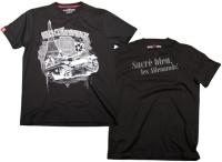 Ansgar Aryan T-Shirt Frankreich fällt klein aus