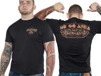 Ansgar Aryan T-Shirt No Go Area fällt klein aus