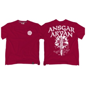 Ansgar Aryan T-Shirt Thule II fällt klein aus