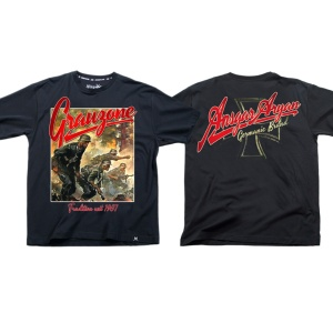 Ansgar Aryan T-Shirt Grauzone